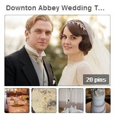 Downton Abbey style wedding by Sami Tipi