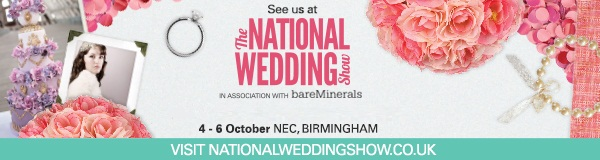The National Wedding Show Banner