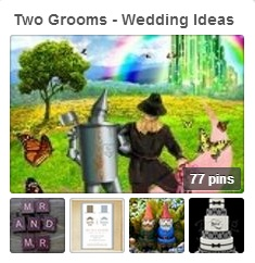 Two Grooms Tipi Wedding