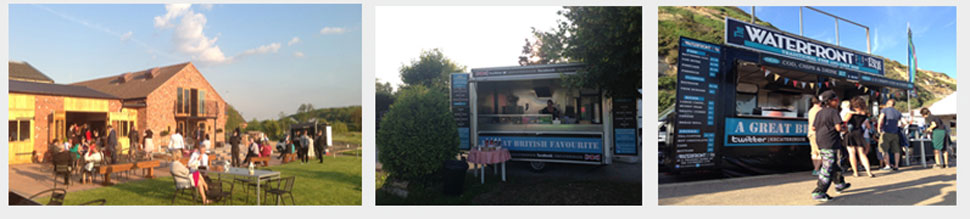 Traditional fish and chip hire one for your tipi wedding