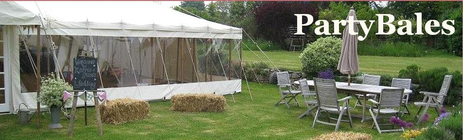 hire party hay bales logo