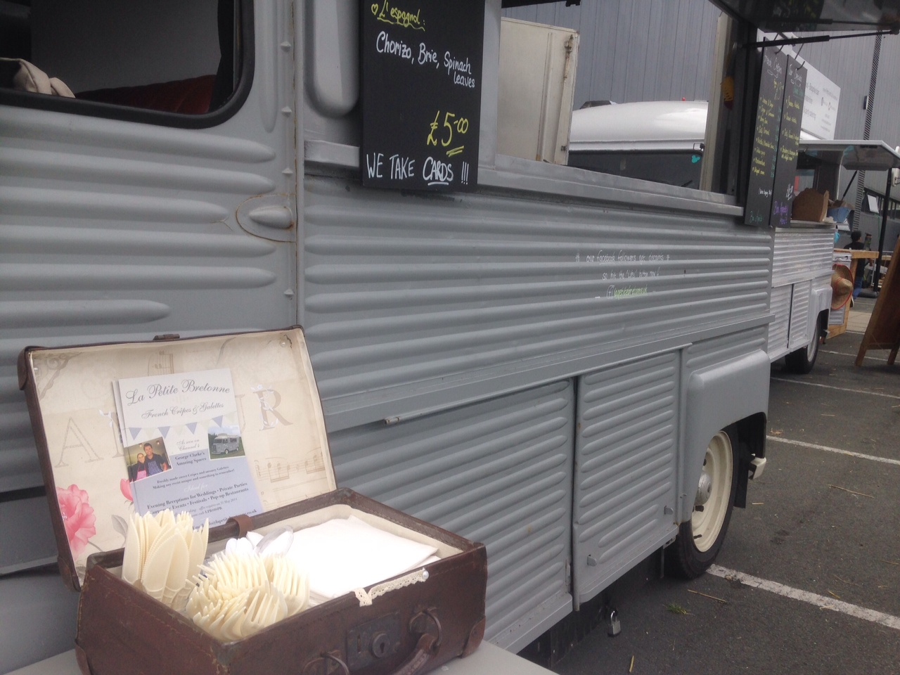 Authentic French Crepes from a Citroen Legend