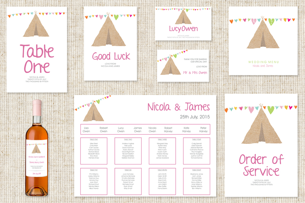 Tipi Matching collection