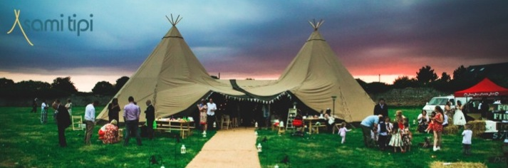 Planning a tipi wedding derby