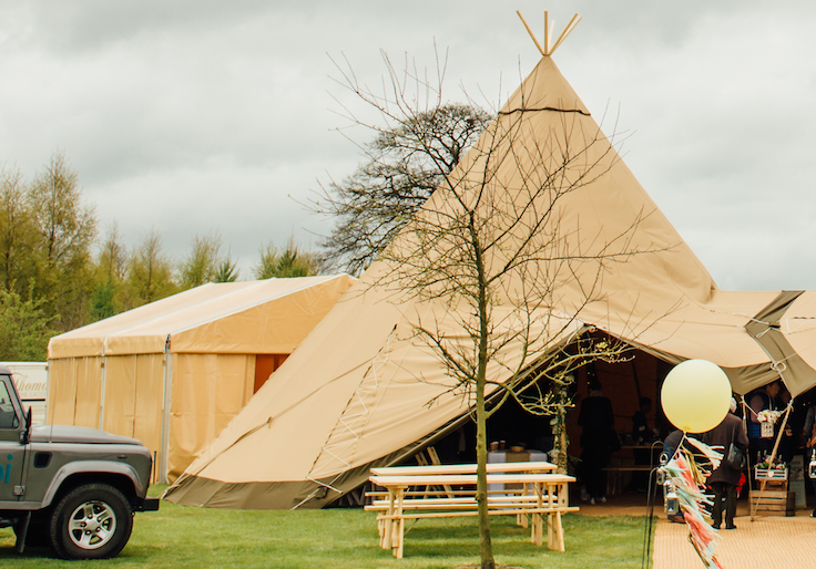 Sami Tipi Catering Tent