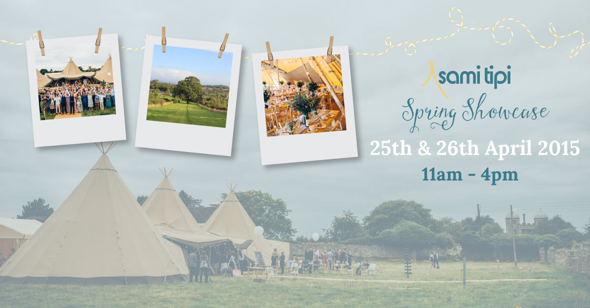 Sami Tipi Spring Open weekend 25th & 26th Arpil