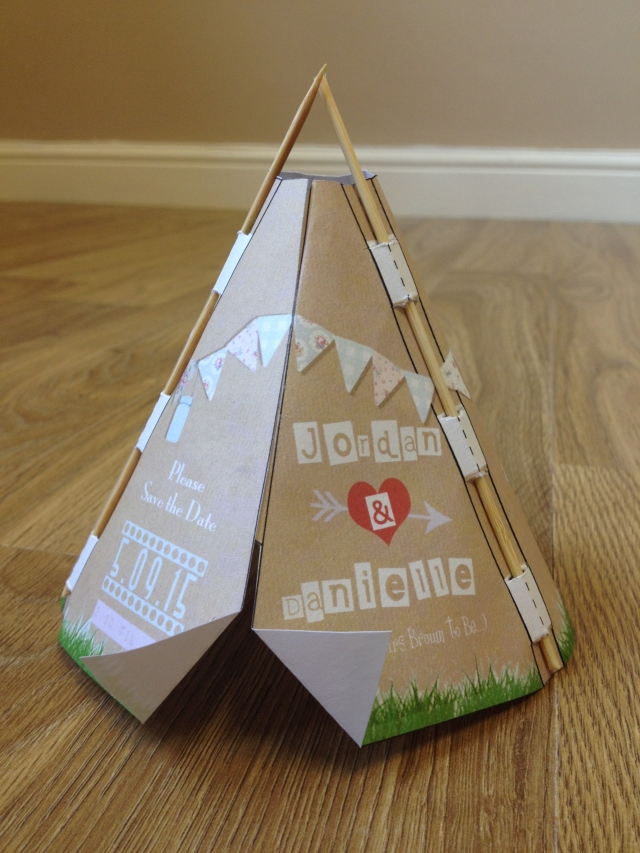 Tipi Inspired Stationery